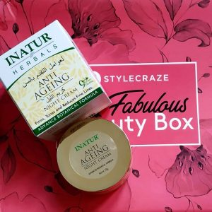 Inatur Anti-Ageing Night Cream -Best night cream-By akanksha_rana