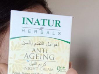 Inatur Anti-Ageing Night Cream pic 1-NYC blend of natural herbs-By aprajita_trivedi