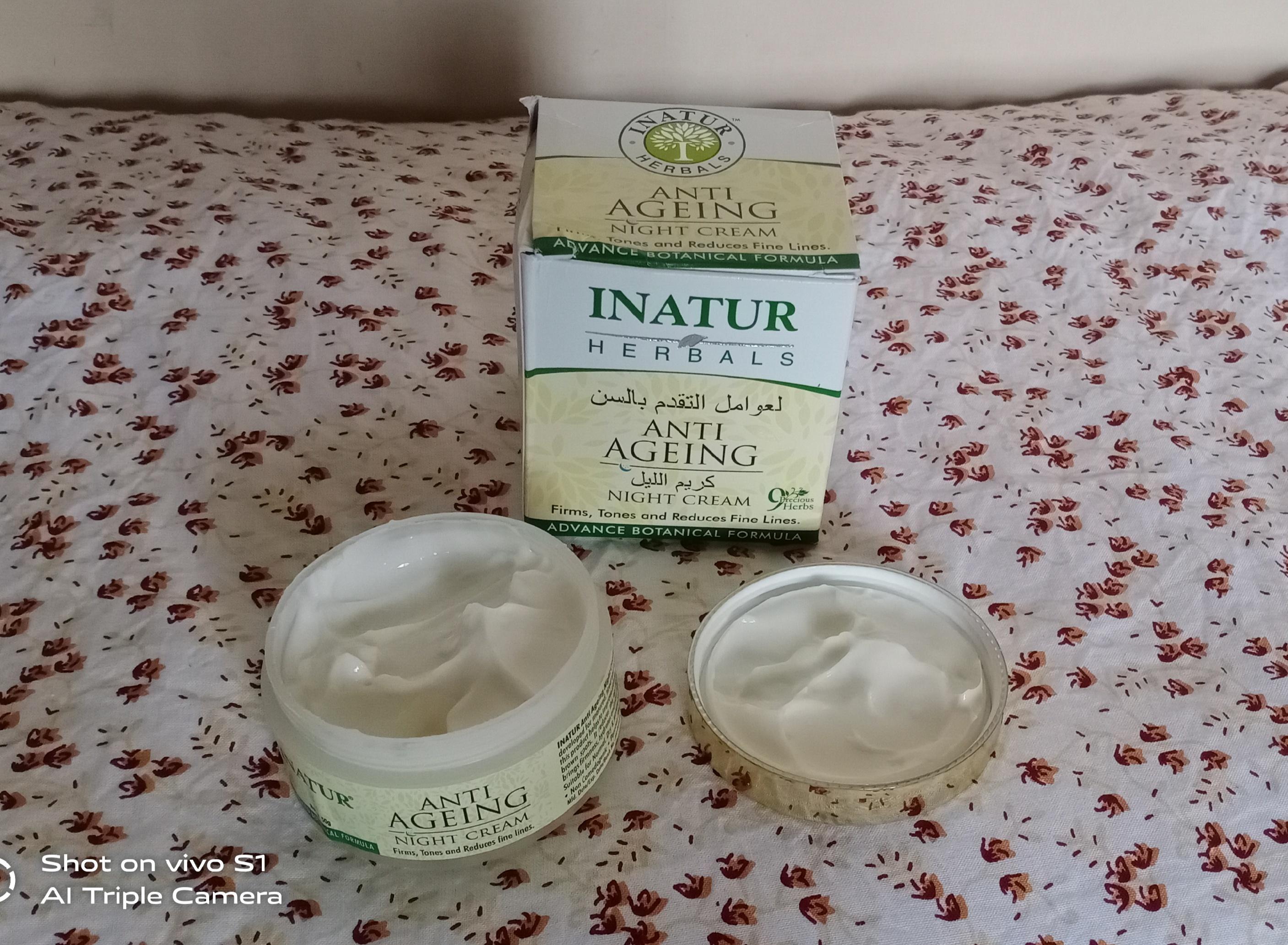 Inatur Anti-Ageing Night Cream pic 2-NYC blend of natural herbs-By aprajita_trivedi
