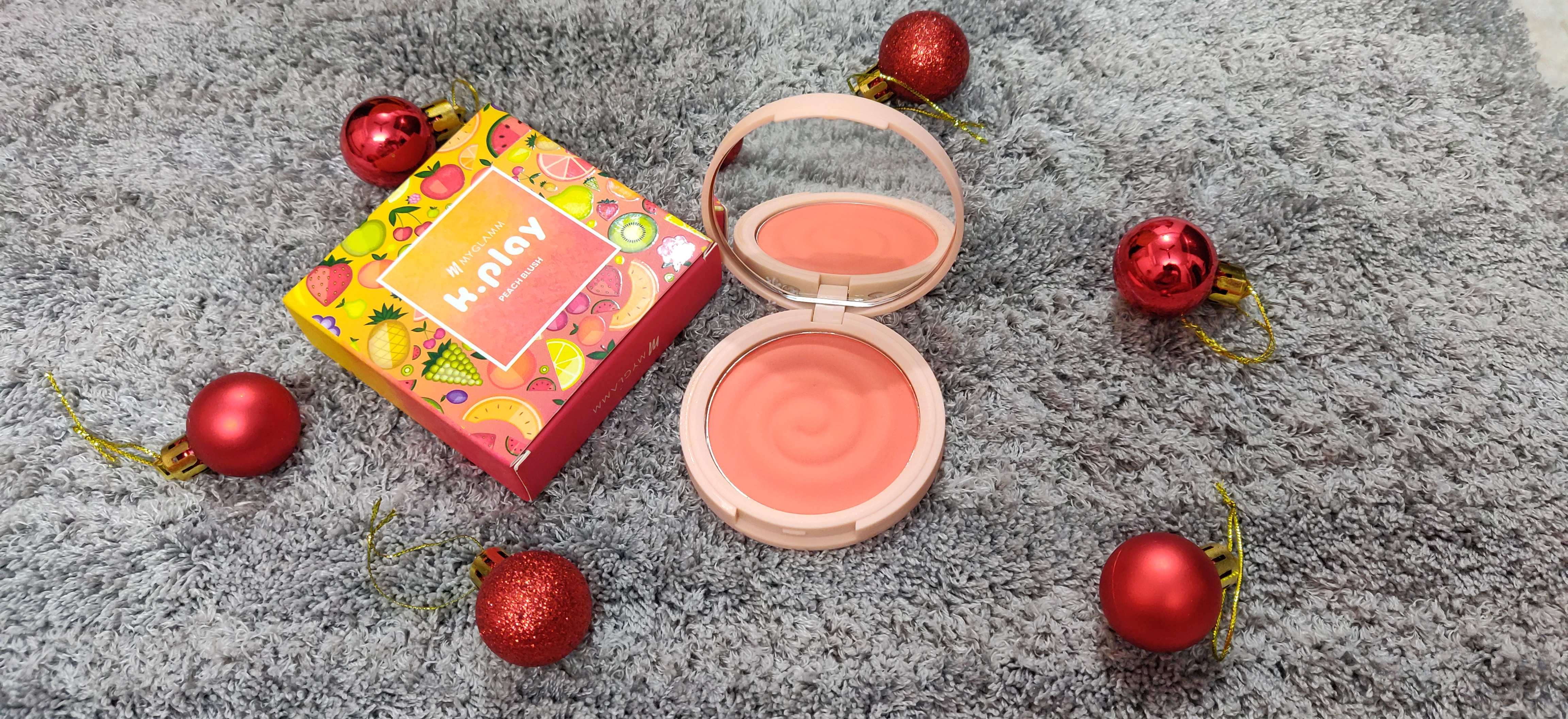 MyGlamm K.PLAY FLAVOURED BLUSH – SWEET PEACH-Highly Pigmented-By mahek_36@hotmail.com