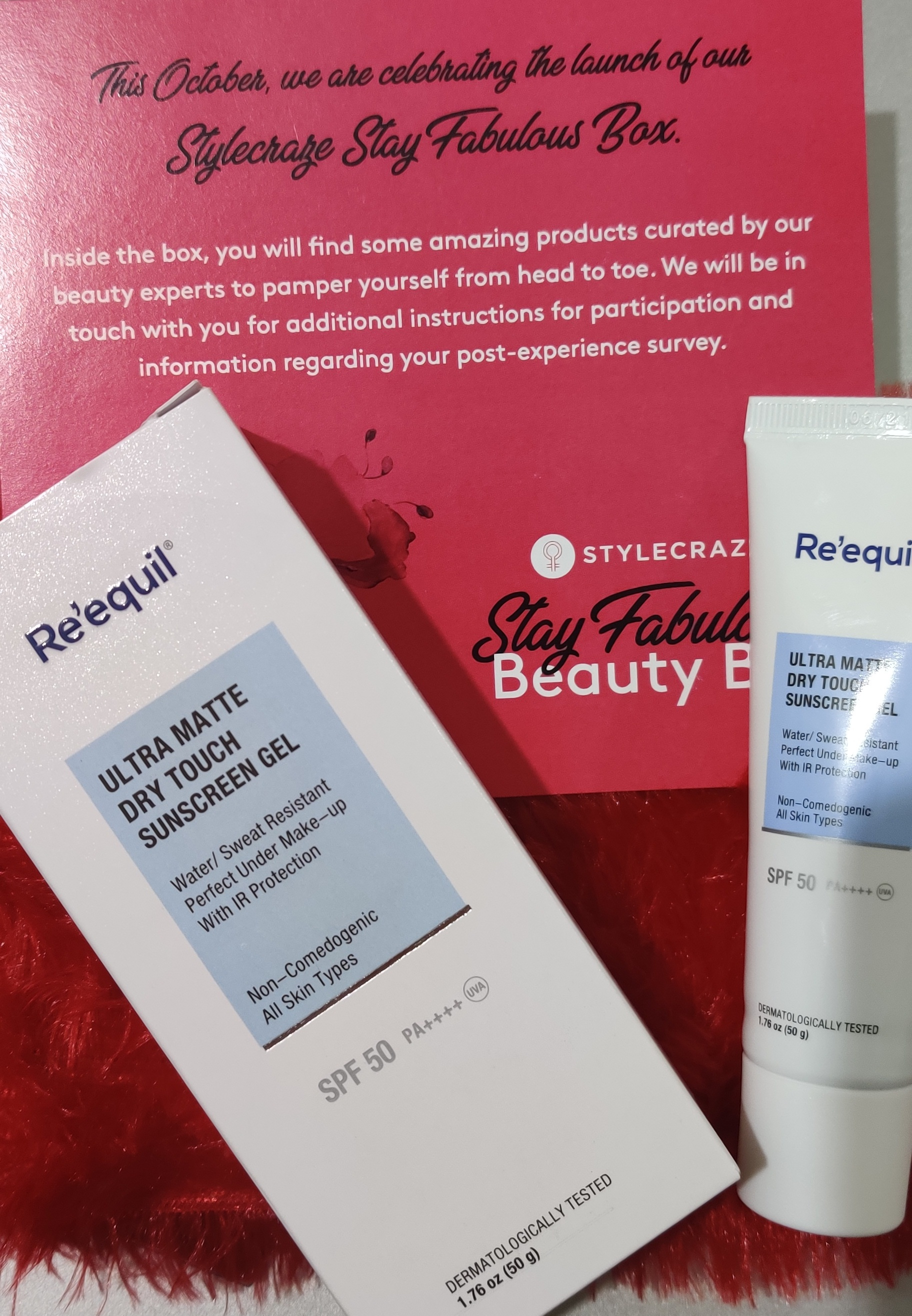 Re'equil Ultra Matte Dry Touch Sunscreen Gel-In love with this!-By preetirawat