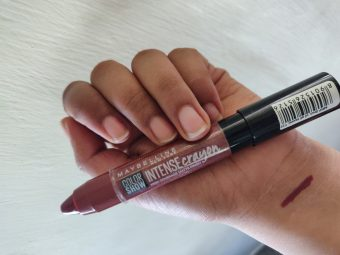 Maybelline New York Color Show Intense Crayon -Intensely pigmented.-By pooja_saboo