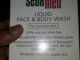 Sebamed Liquid Face And Body Wash pic 2-Hydrating effect-By manju_