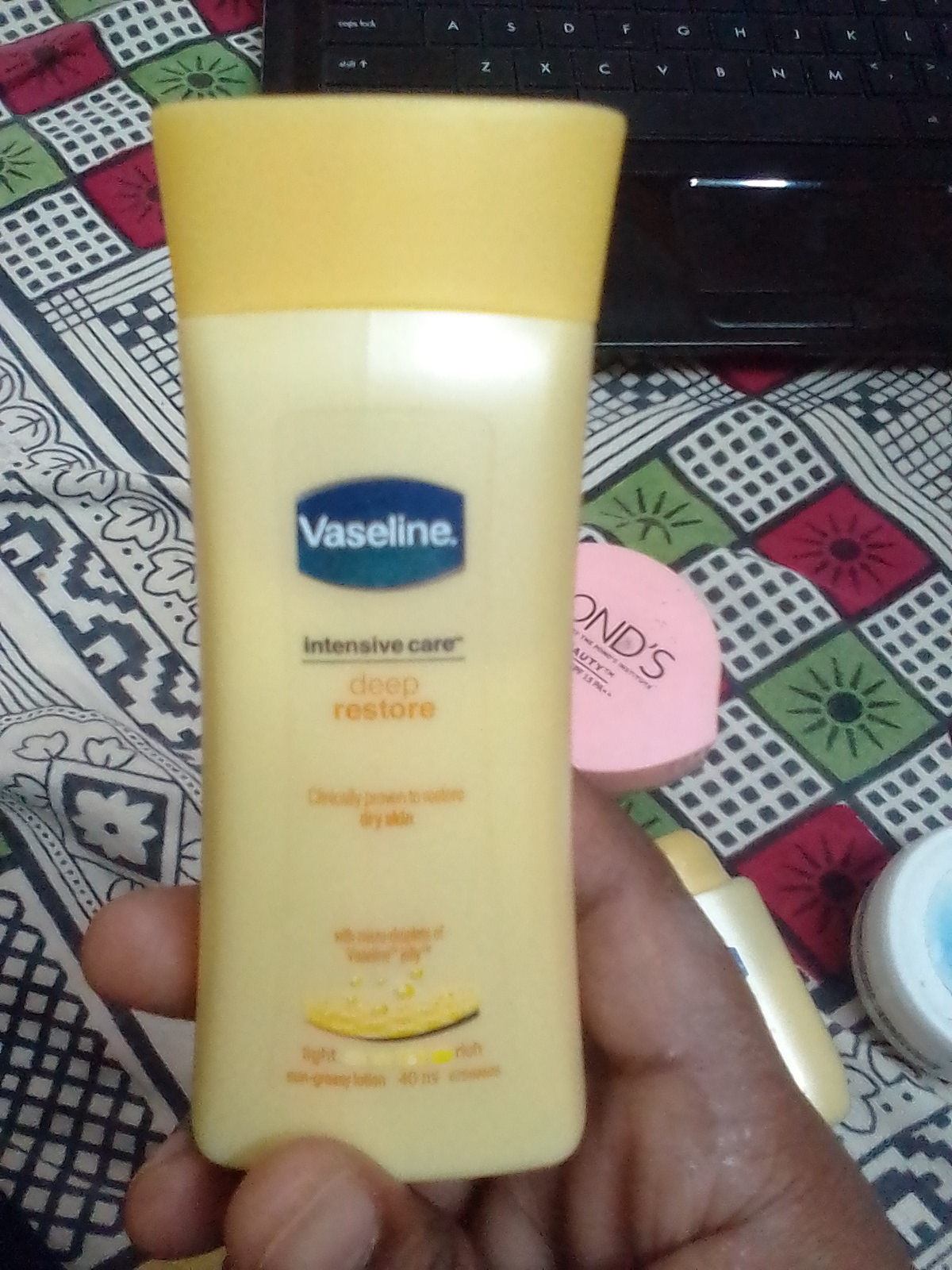Vaseline Intensive Care Deep Restore Body Lotion-Best intensive care lotion-By umadevi-2