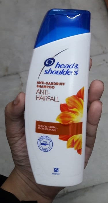 Head And Shoulders Anti Hair Fall Shampoo-Really good-By Nasreen-2