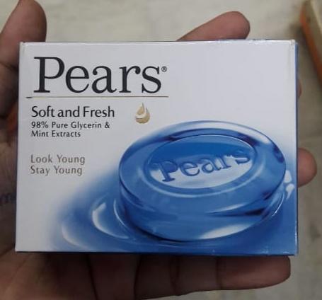 Pears Soft & Fresh Soap Bar-Freshen skin-By Nasreen-1