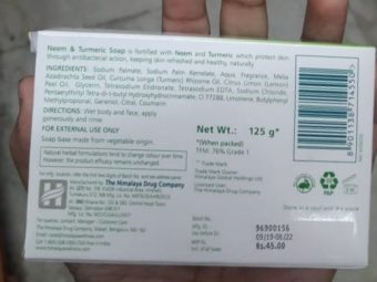 Himalaya Herbals Neem And Turmeric Soap pic 2-Good one-By Nasreen