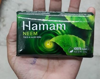 Hamam Neem Tulsi And Aloe Vera Soap Bar-Amazing product-By Nasreen-1