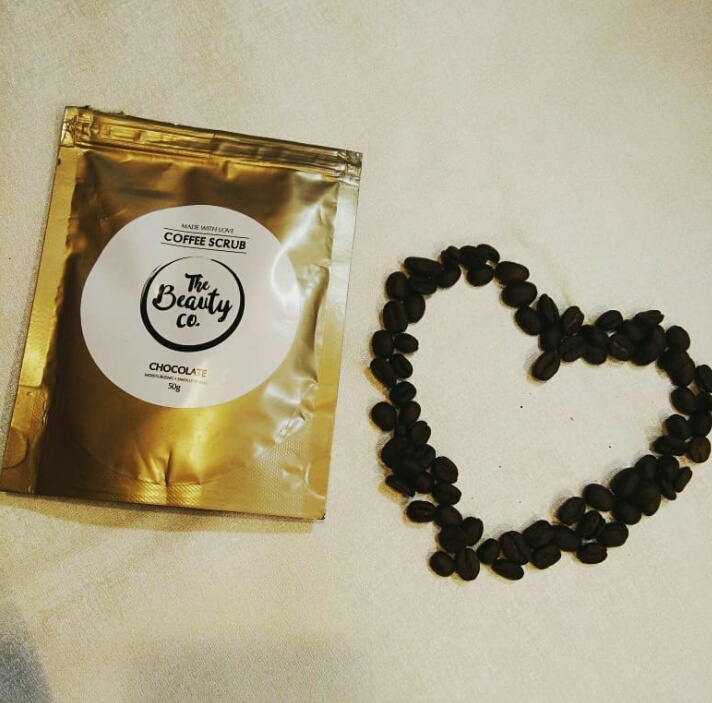 The Beauty Co. Chocolate Coffee Scrub-Smells amazing and does not have harsh particles!-By isha_chandra