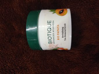 Biotique Bio Papaya Revitalizing Tan Removal Scrub -Amazing results-By marlyn.mansion