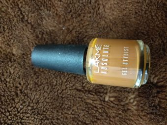 Lakme Absolute Gel Stylist Nail Polish -Amazing quality-By marlyn.mansion