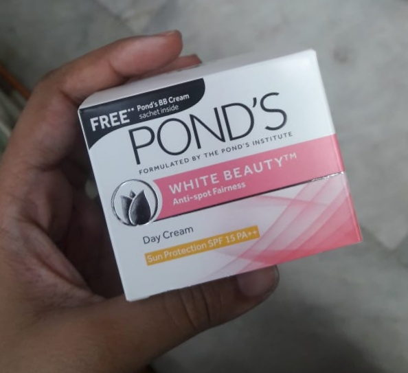 Ponds White Beauty Anti Spot Fairness SPF 15 Day Cream-Okay product-By Nasreen-2