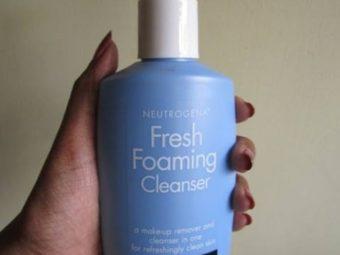 Neutrogena Fresh Foaming Cleanser -Fresh cleanser by neutrogena-By umadevi