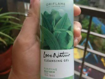 Oriflame Love Nature Tea Tree Cleansing Gel -Beautiful tea tree gel-By umadevi