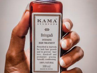 Kama Ayurveda Bringadi Intensive Hair Treatment Oil -One oil many benefits-By shivangigosavi