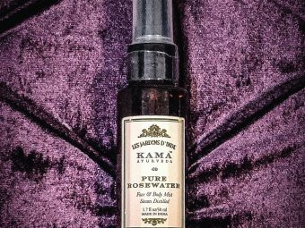 Kama Ayurveda Rose Water -Instant hydration and freshness-By shivangigosavi