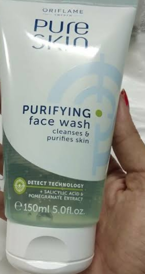Oriflame Pure Skin Purifying Face Wash-Purifying face wash by oriflame-By umadevi