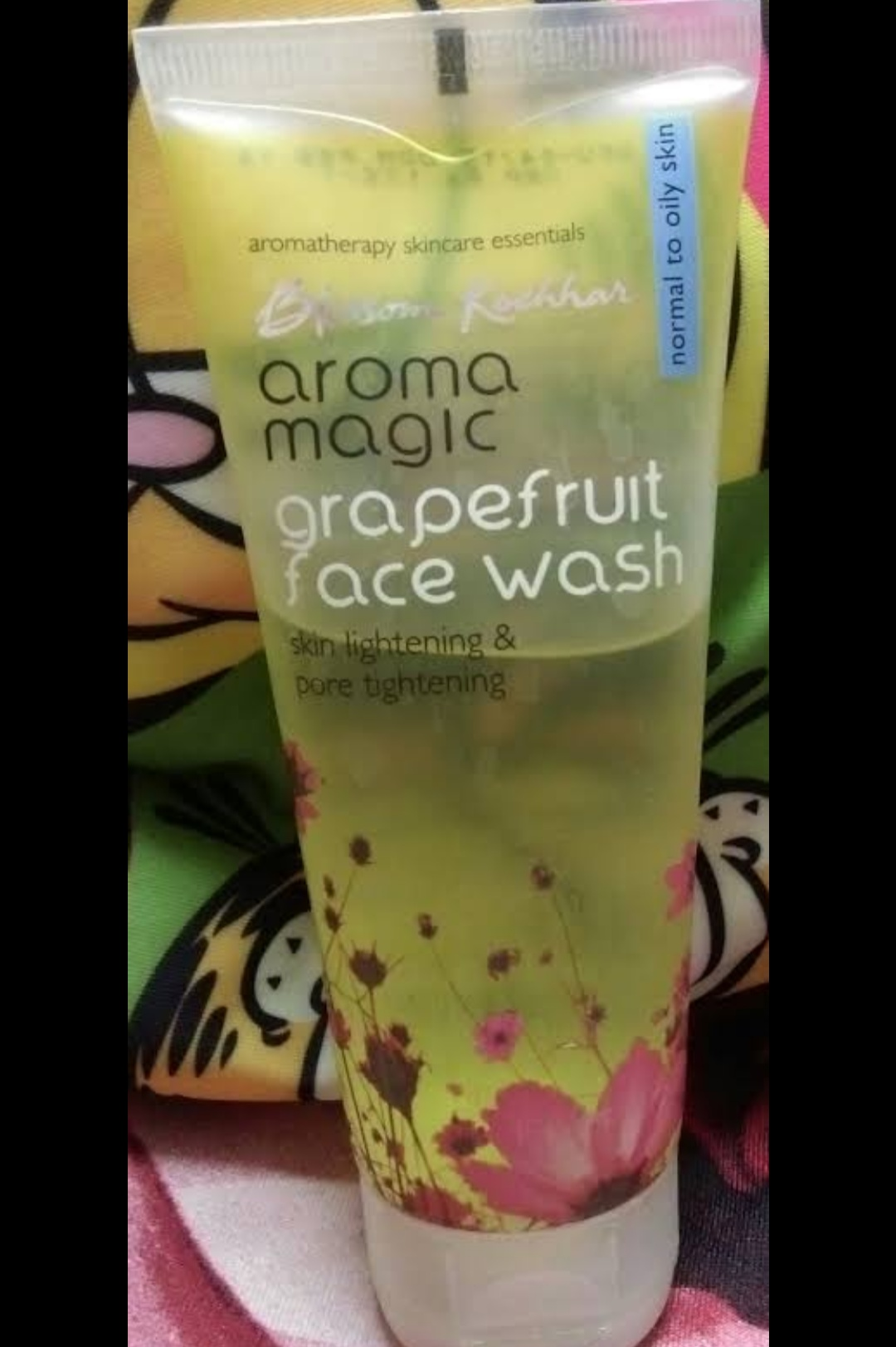 Aroma Magic Grapefruit Face Wash-Nice fruit face wash-By umadevi