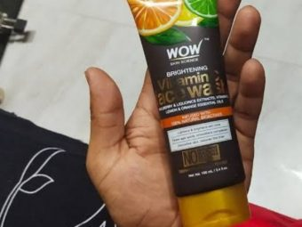 WOW Skin Science Brightening Vitamin C Face Wash -Best face wash for vitamin C-By umadevi