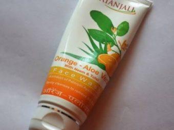 Patanjali Orange Aloe Vera Face Wash -Aloe Vera orange face wash-By umadevi