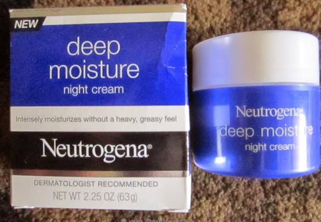 Neutrogena Deep Moisture Night Cream-Best night cream by neutrogena-By umadevi