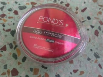 Ponds Age Miracle Deep Action Night Cream -Ponds night cream is good-By umadevi