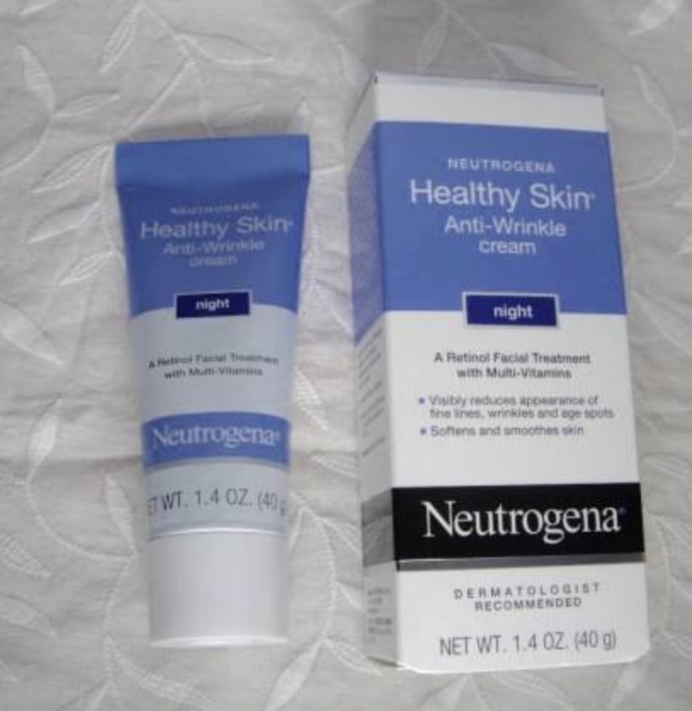 Neutrogena Healthy Skin Anti Wrinkle Night Cream-Best anti wrinkle cream-By umadevi
