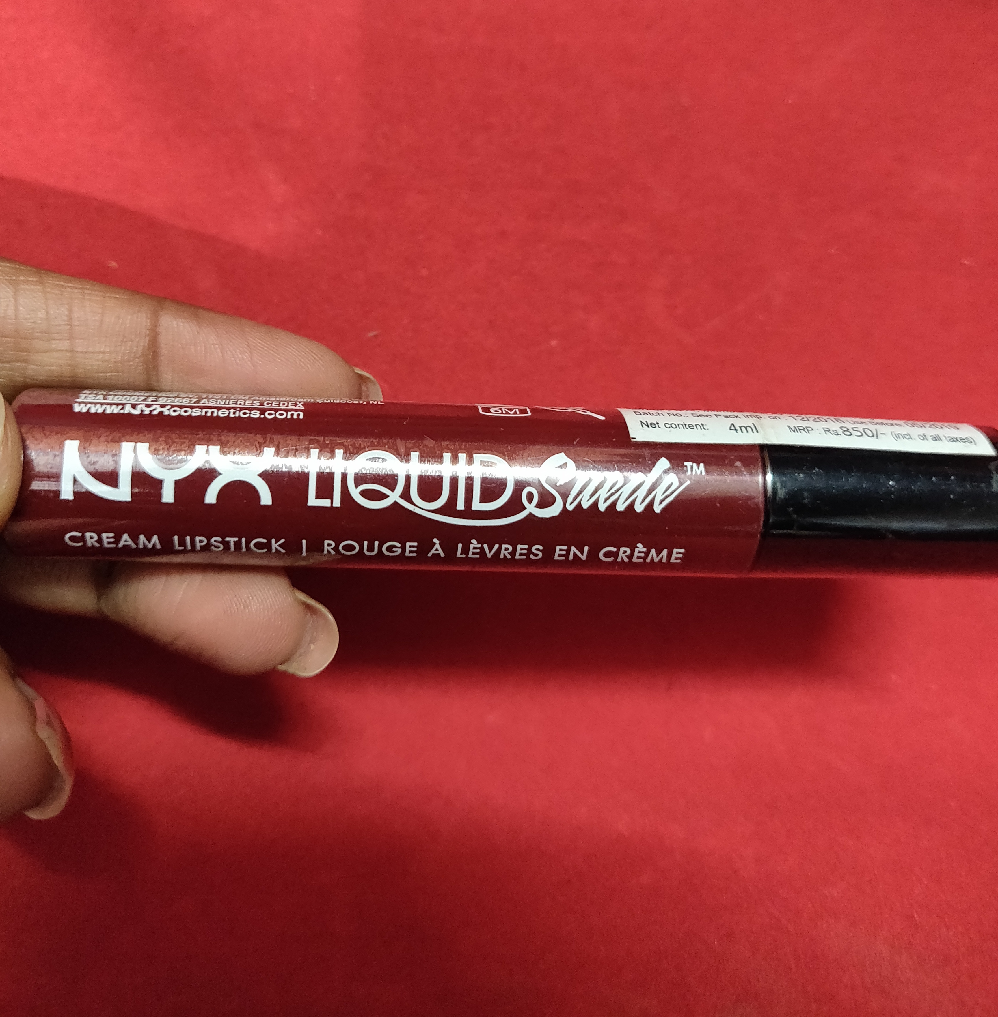 NYX Professional Makeup Liquid Suede Cream Lipstick-Amazing quality-By marlyn.mansion