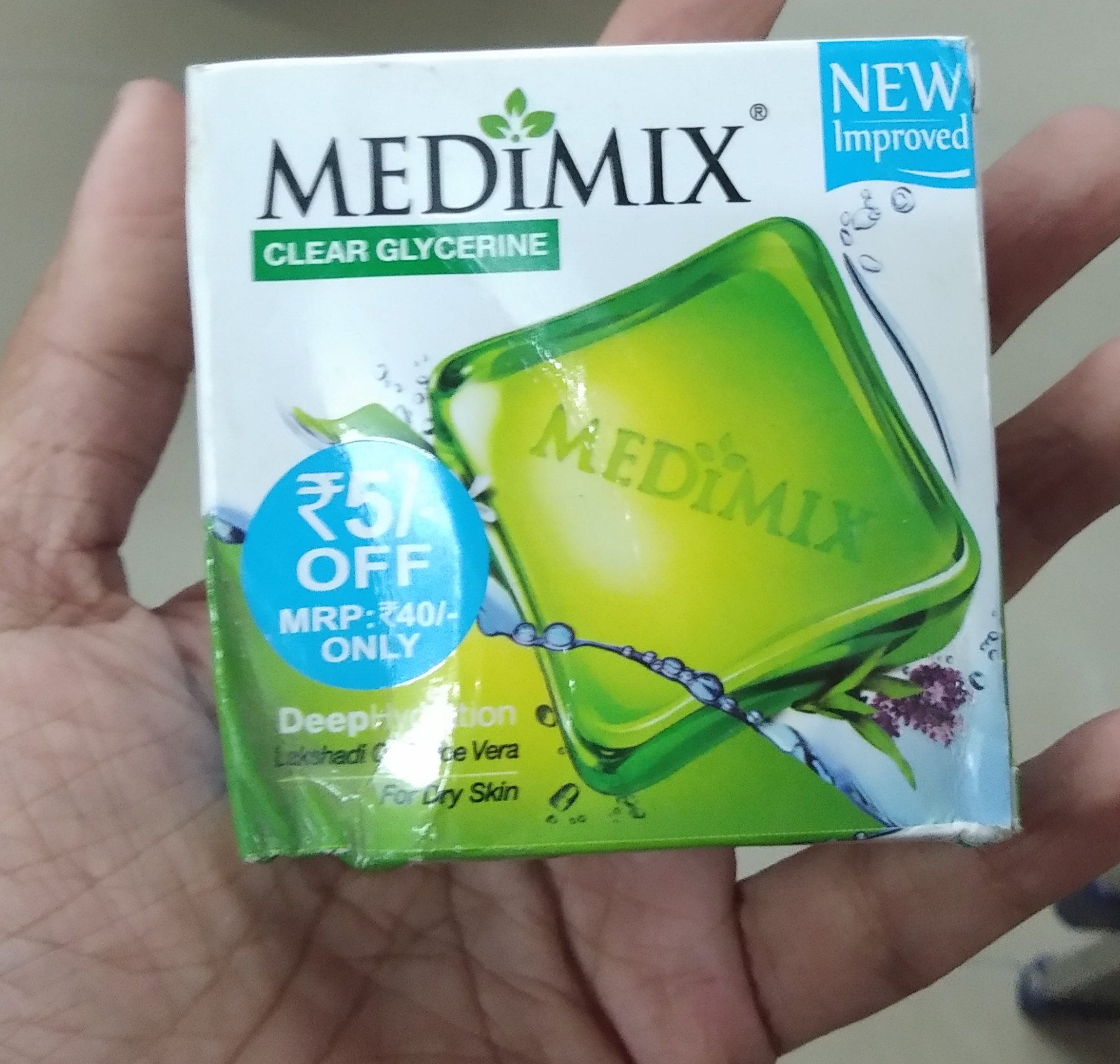 Medimix Ayurvedic Natural Glycerine Soap-Good one-By Nasreen-2