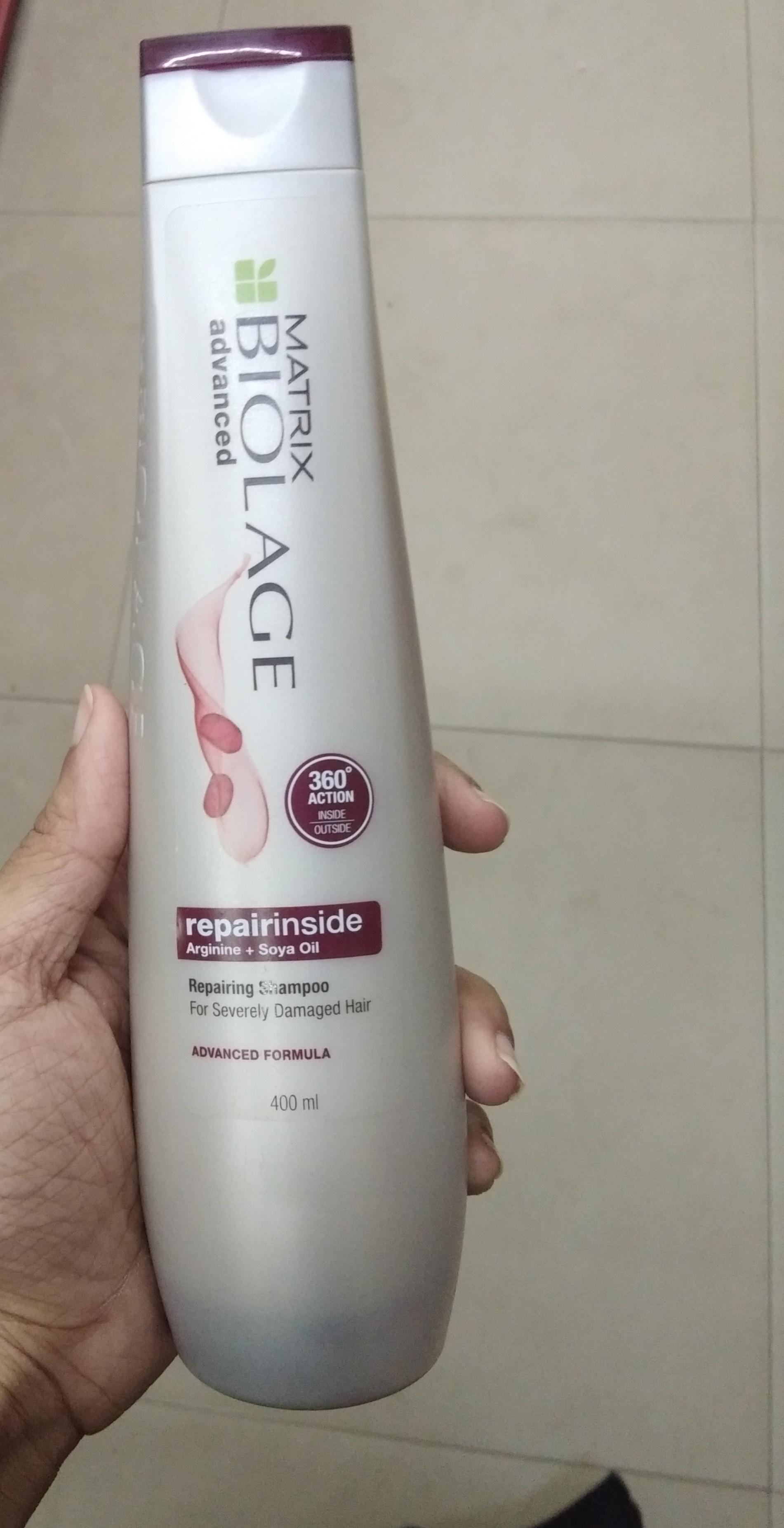 Matrix Biolage Advanced Repairinside Shampoo pic 2-Good shampoo-By Nasreen