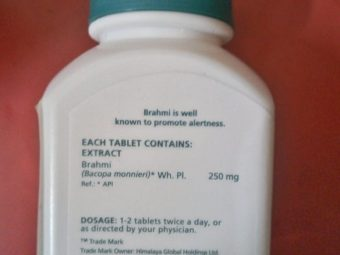 Himalaya Herbals Brahmi Tablets pic 1-Improves memory-By Nasreen