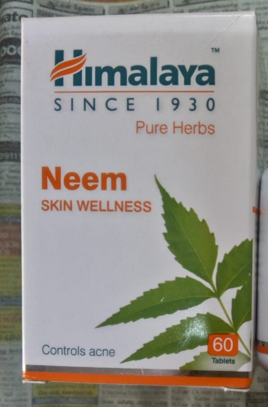 Himalaya Neem Tablets-Treats acne and purify blood-By Nasreen-2