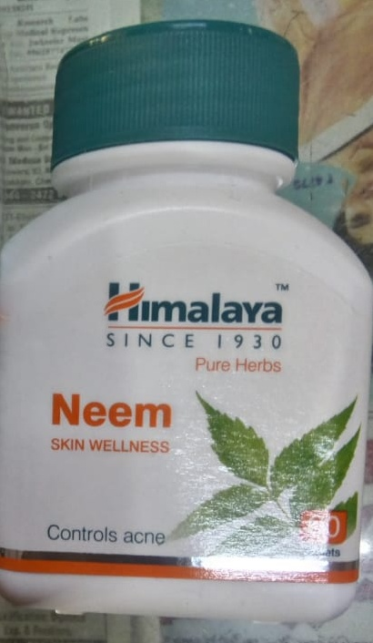 Himalaya Neem Tablets-Treats acne and purify blood-By Nasreen-1