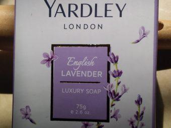 Yardley London English Lavender Luxury Soap pic 2-Smells great-By paru0105