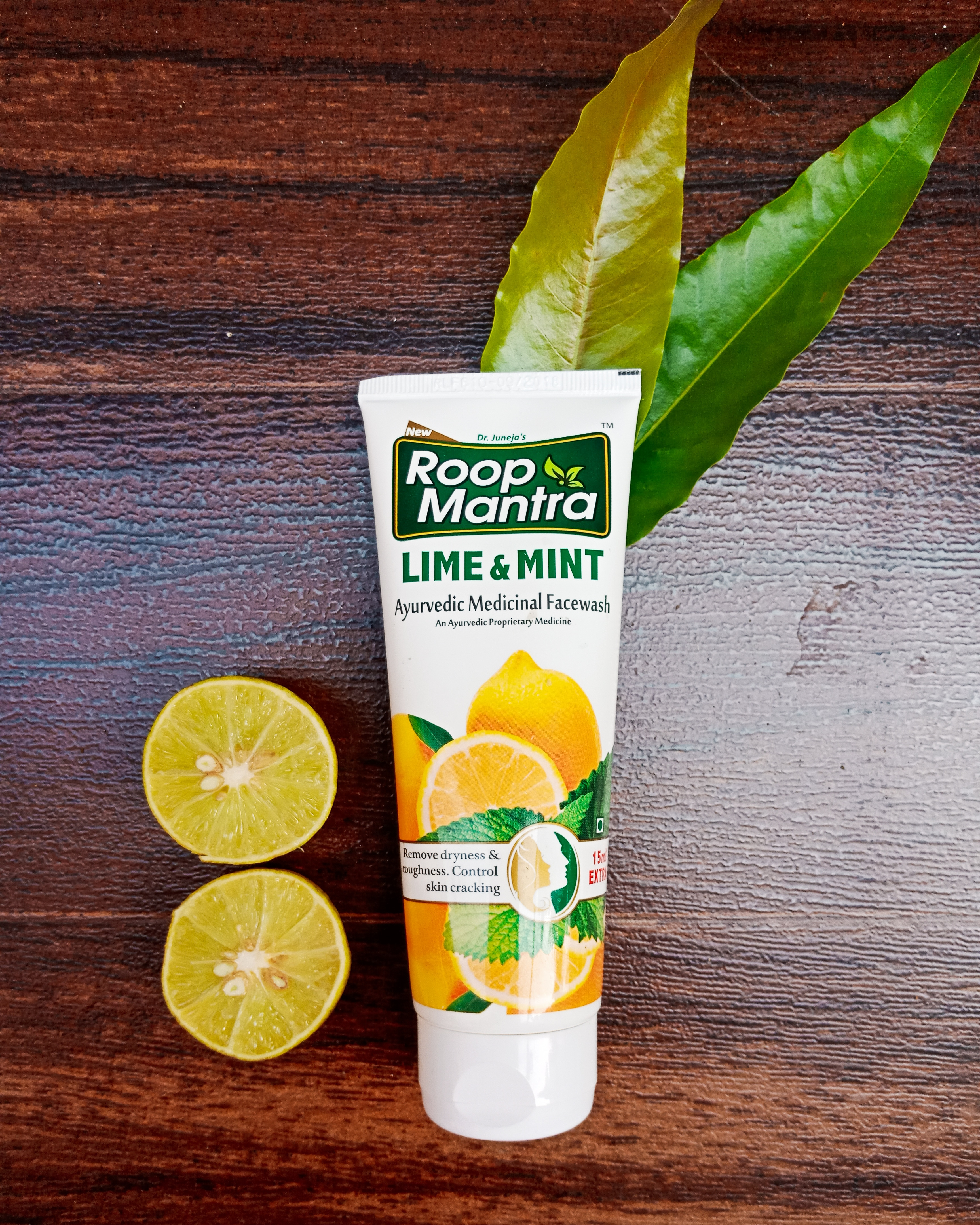 Roop Mantra Lime & Mint Face Wash-For normal to dry skin-By anushka18