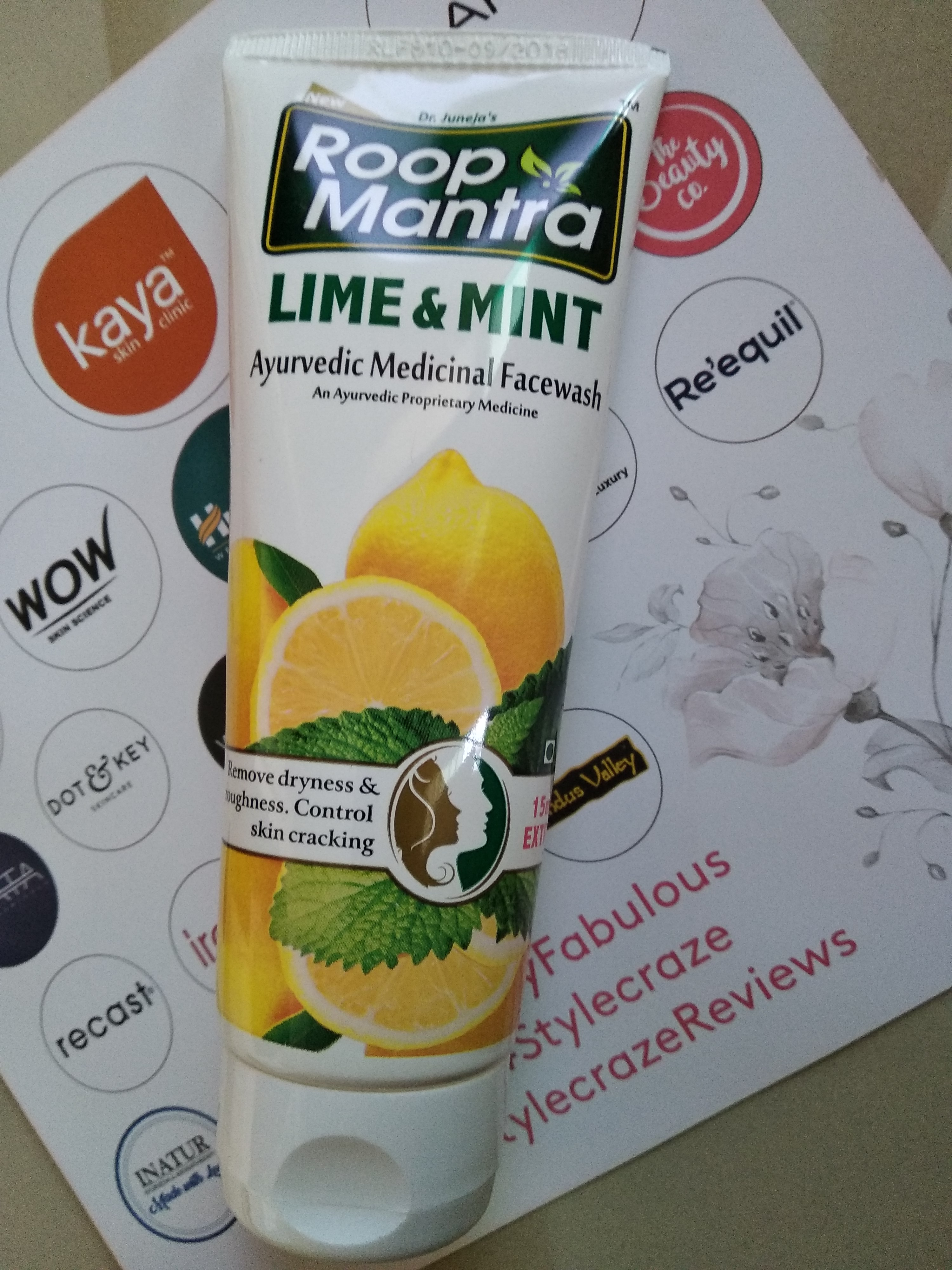 Roop Mantra Lime & Mint Face Wash-Amazing Product!-By ashbiha
