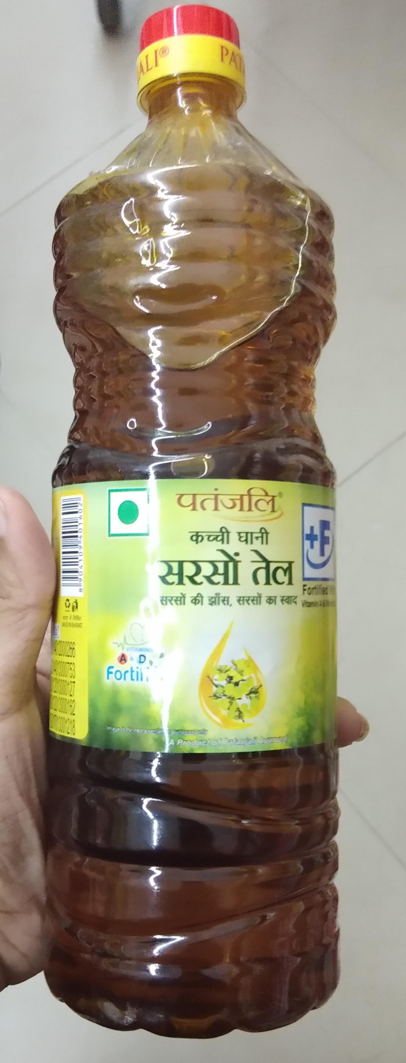 Patanjali Kachi Ghani Mustard Oil-Beneficial-By Nasreen-1