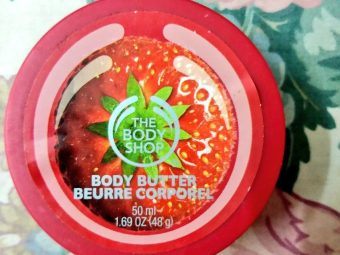 The Body Shop Strawberry Body Butter -Smooth body butter-By aneesha