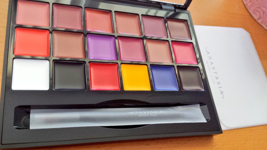 Anastasia Beverly Hills Lip Palette-Lip palette-By aneesha