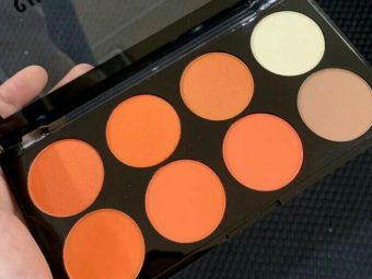 Sivanna Ultra Blush Palette -Blush contour and highlighter palette-By aneesha