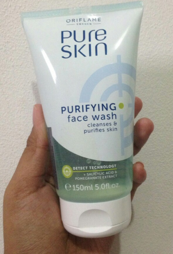 Oriflame Pure Skin Purifying Face Wash-Face wash-By aneesha