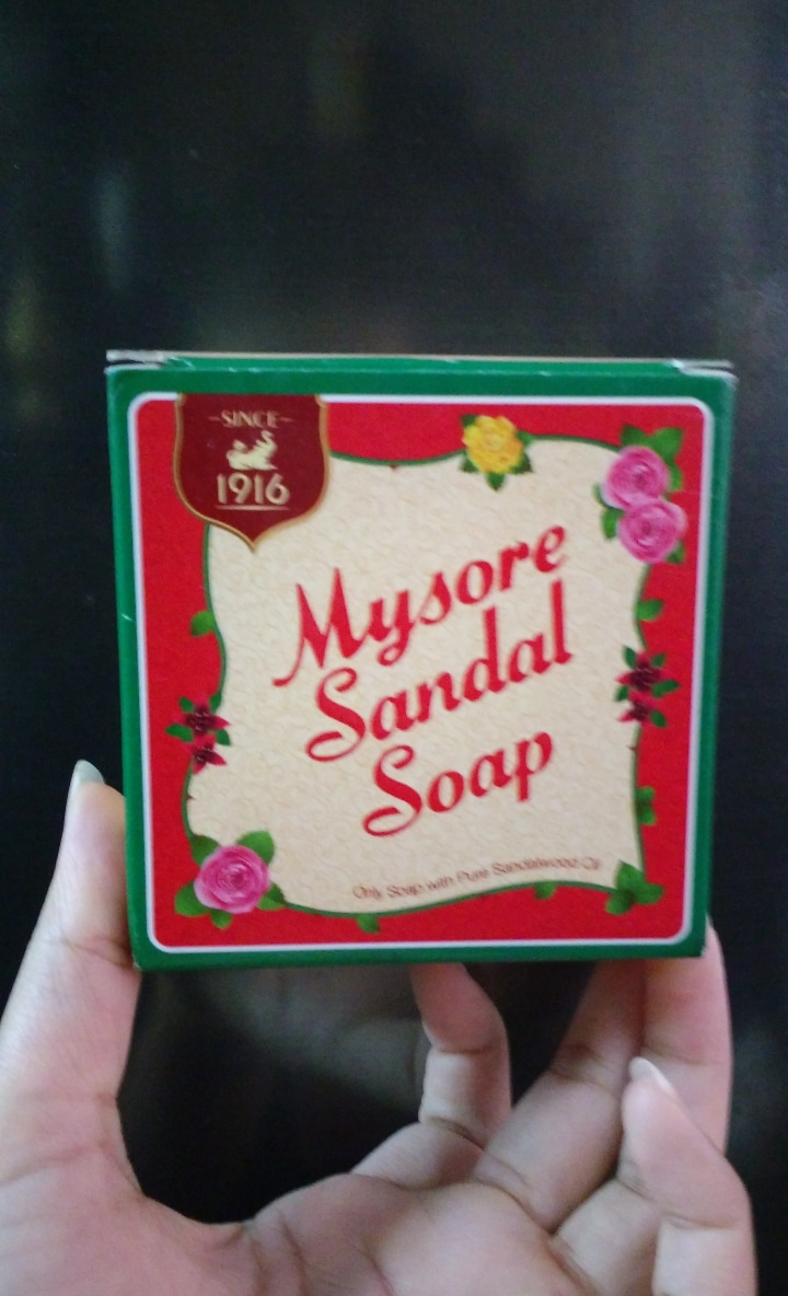 Mysore Sandal Soap -Soothing fregarance-By ashwini_bhagat
