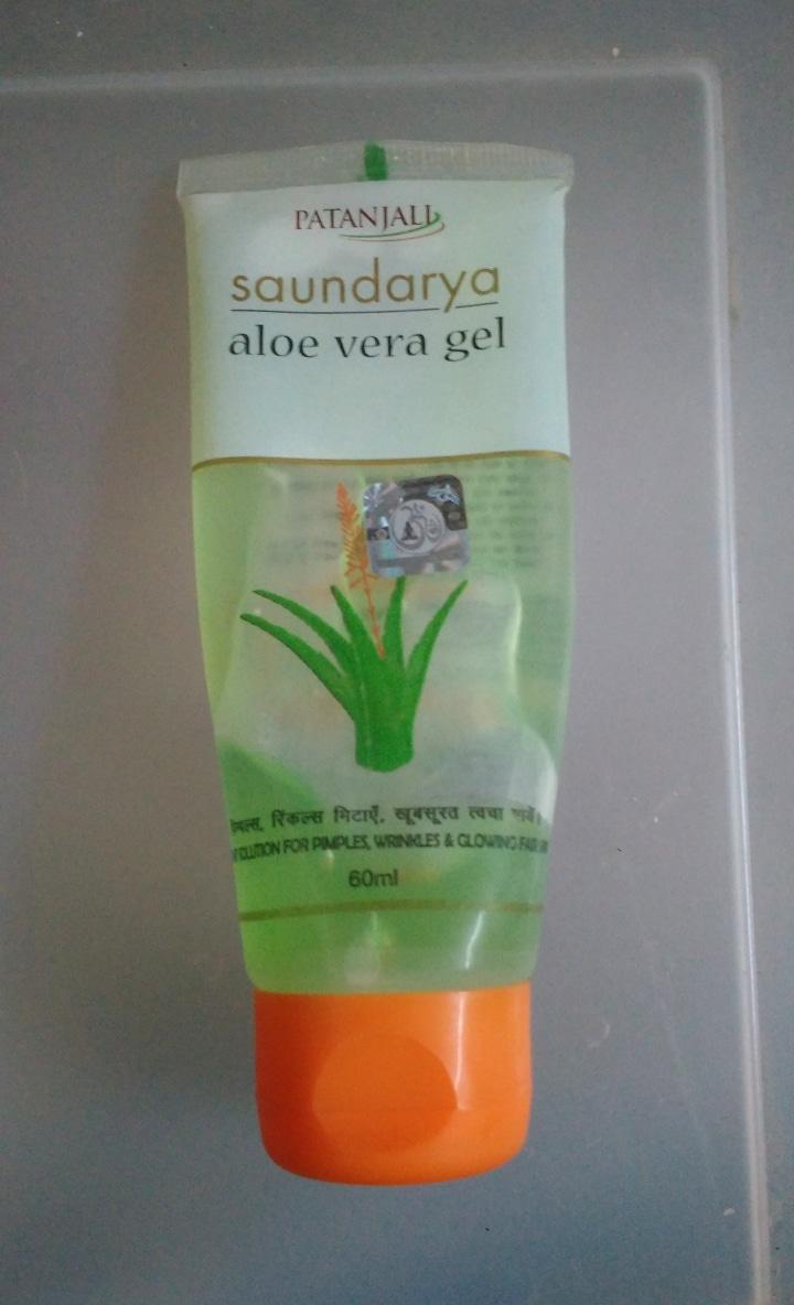 Patanjali Aloe Vera Gel-Good for skin care-By ashwini_bhagat