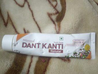 Patanjali Dant Kanti Dental Cream (Regular) 100gm -Dant Kanti natural toothpaste by Patanjali-By aashima