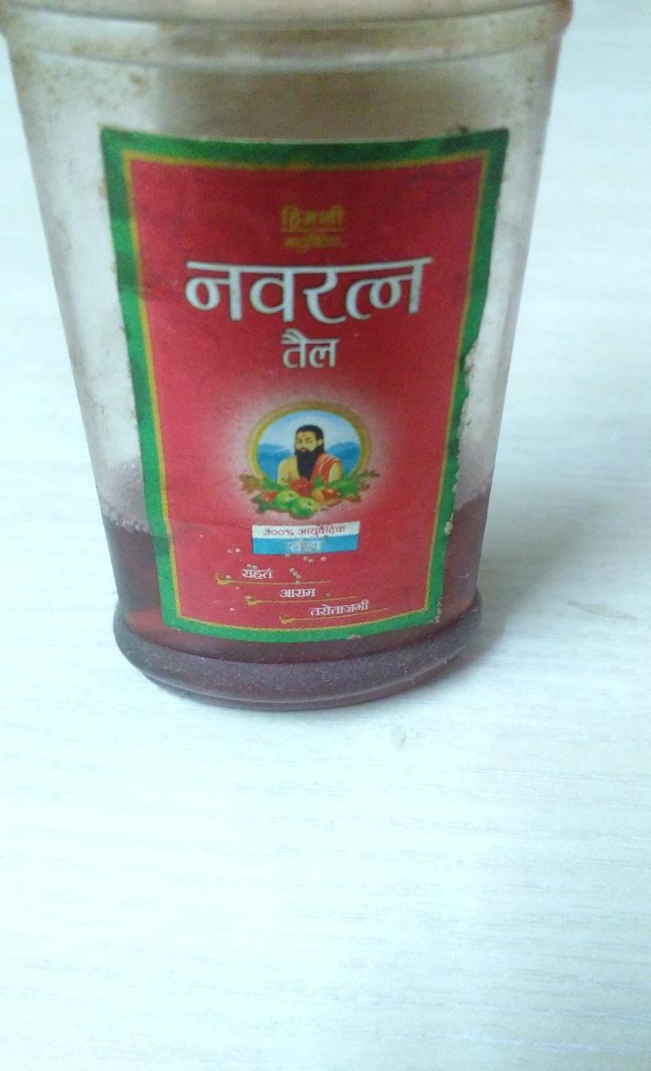 Himani Navratna Ayurvedic Oil-Cool head massage-By ashwini_bhagat