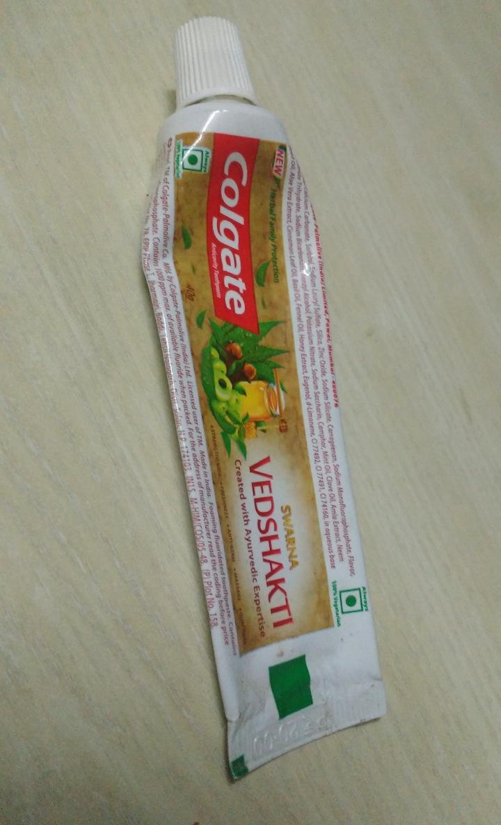 Colgate Swarna Vedshakti Toothpaste-Ayurvedic booster-By ashwini_bhagat