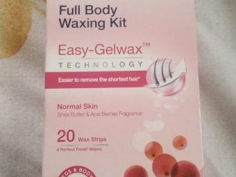 Veet Cold Wax Strips – Full Body Waxing Kit -Easy wax at home-By ashwini_bhagat