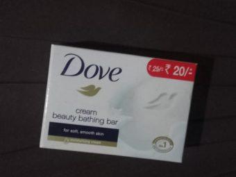 Dove Cream Beauty Bathing Bar -Smooth and soft skin-By ashwini_bhagat