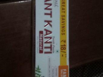Patanjali Dant Kanti Dental Cream (Regular) 100gm -Refreshing herbal toothpaste-By ashwini_bhagat