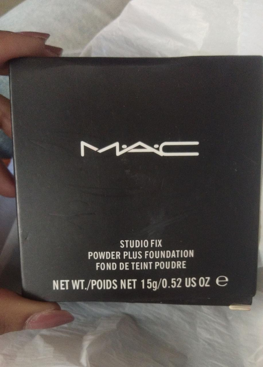 MAC Studio Fix Powder Plus Foundation-Great coverage with a matte finish-By ashwini_bhagat